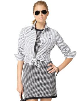 Non-Iron Tailored Fit Bengal Stripe Dress Shirt $35.80