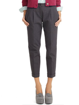Cotton Houndstooth Pants $51.20