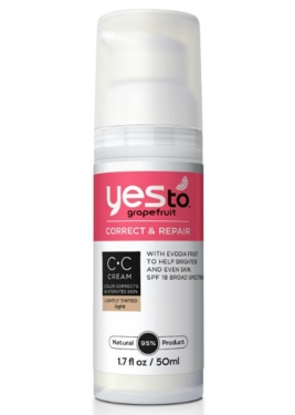 Yes to Grapefruit Correct & Repair CC Cream $15.99