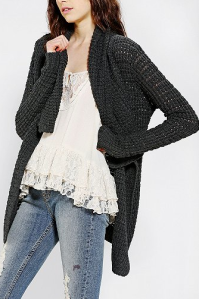 Urban Outfitters Staring At Stars Cozy Shawl-Collar Cardigan $69.00