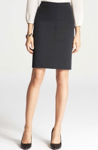 Ann Taylor Stretch Pencil Skirt $79